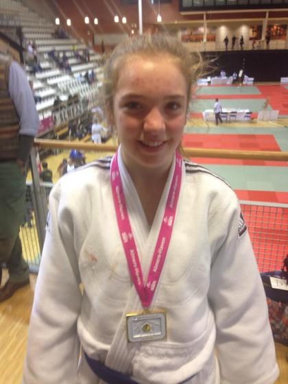 Gouden medaille winnares Jill Bontrop (De Voltreffer)
