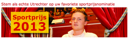 Sportprijs 2013