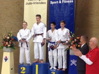 Björn Middelkoop wint zilver (-50 kg)