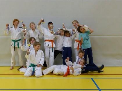 TJU judokas op het Vrijstad Toernooi in Culemborg