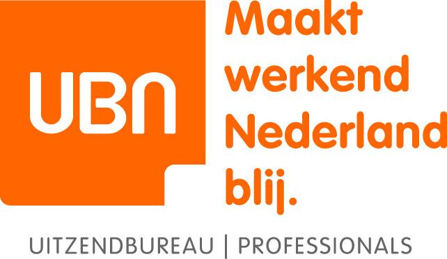 Logo UBN blokje met payoff